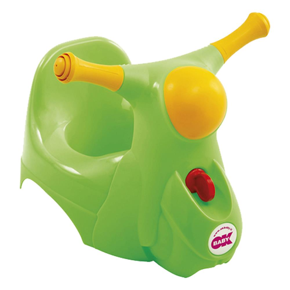 Baby Töpfchen Ok Baby Potty Scooter Green