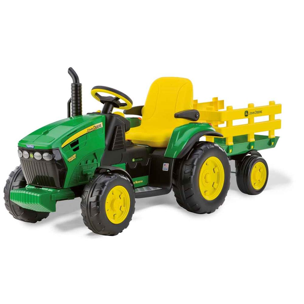 Bettwäsche Traktor John Deere Peg Perego Traktor John Deere Ground Force M Anh