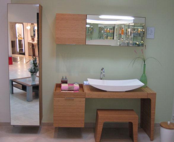 Badezimmermöbel Bambus