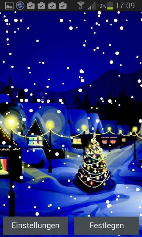 Falling Snow Live Wallpaper For Pc 15 Apps Sorgen F 252 R Weihnachtliche Stimmung Pc Welt