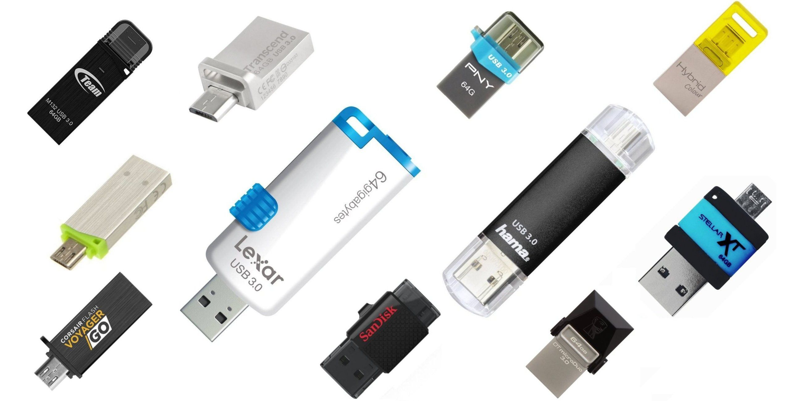 Otg Kabel Media Markt On The Go Otg Usb Sticks Mit 64 Gb Im Test Pc Welt