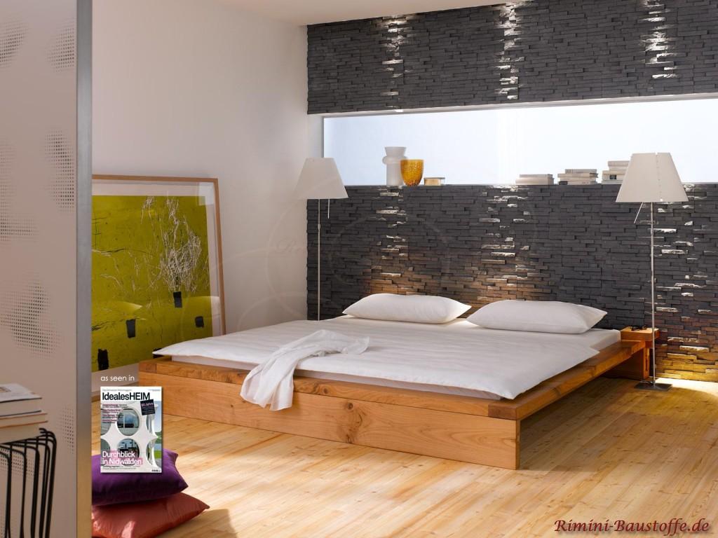 Schlafzimmer Wand Hinterm Bett Regal Hinter Bett Selber Bauen Wohn