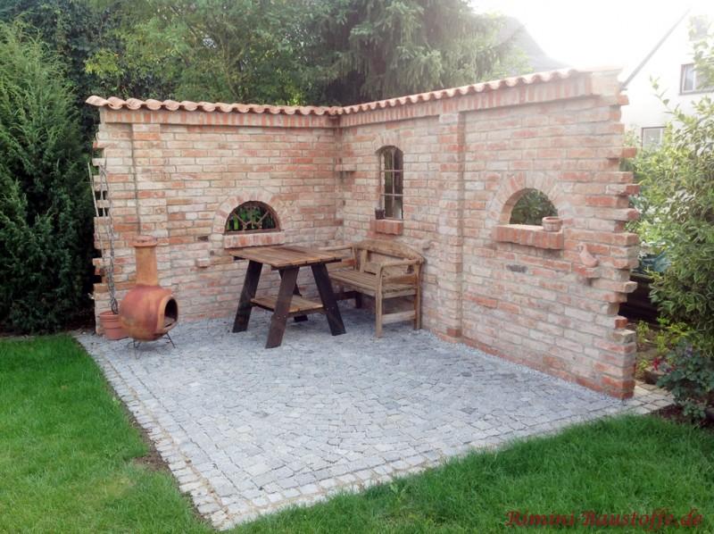Mediterrane Gartenmauer U2013 Msglocalinfopin von rimini baustoffe ...