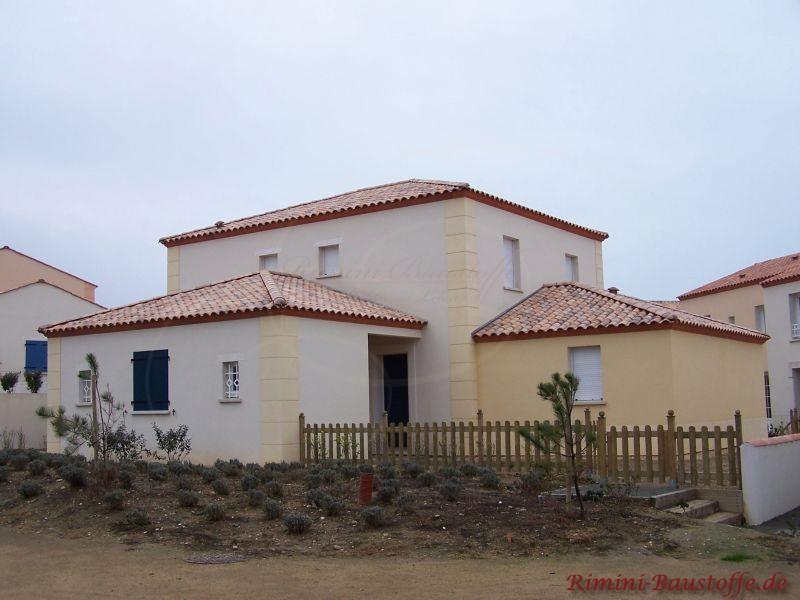Mediterranes Haus Bilder - fassadenfarbe haus