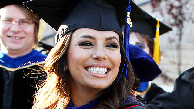 Usa Möbel Eva Longoria: Desperate Housewives-star Macht Zweiten Uni