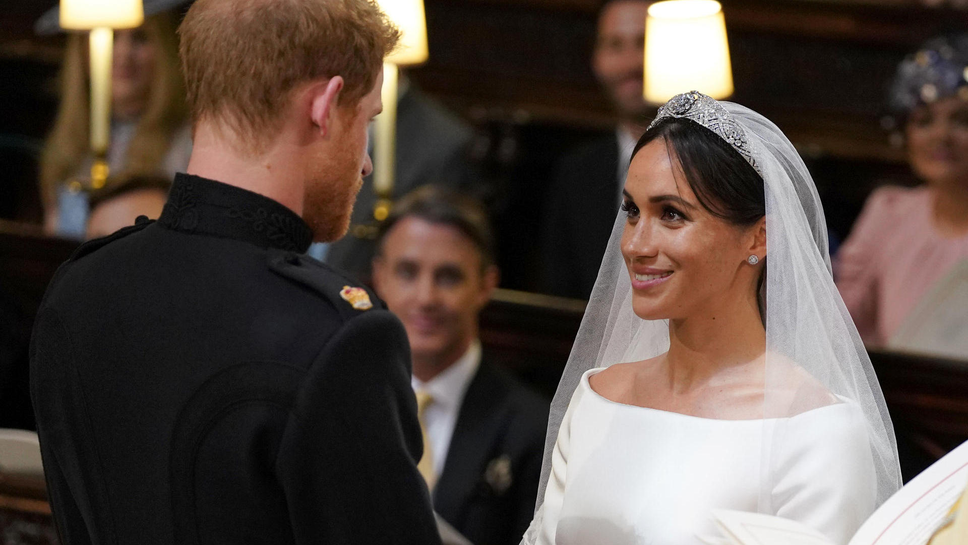 Queen Elizabeth Hochzeit Duchess Meghan Differs From Her Wedding Dress