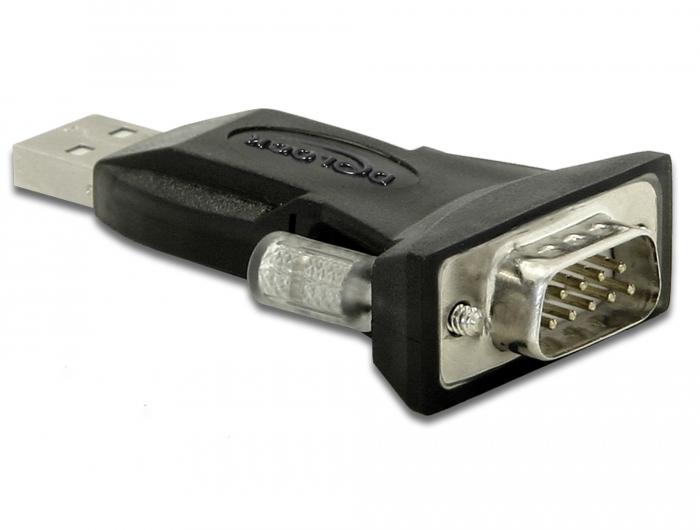 Delock Products 61425 Delock Adapter USB 20 Type-A \u003e 1 x Serial DB9