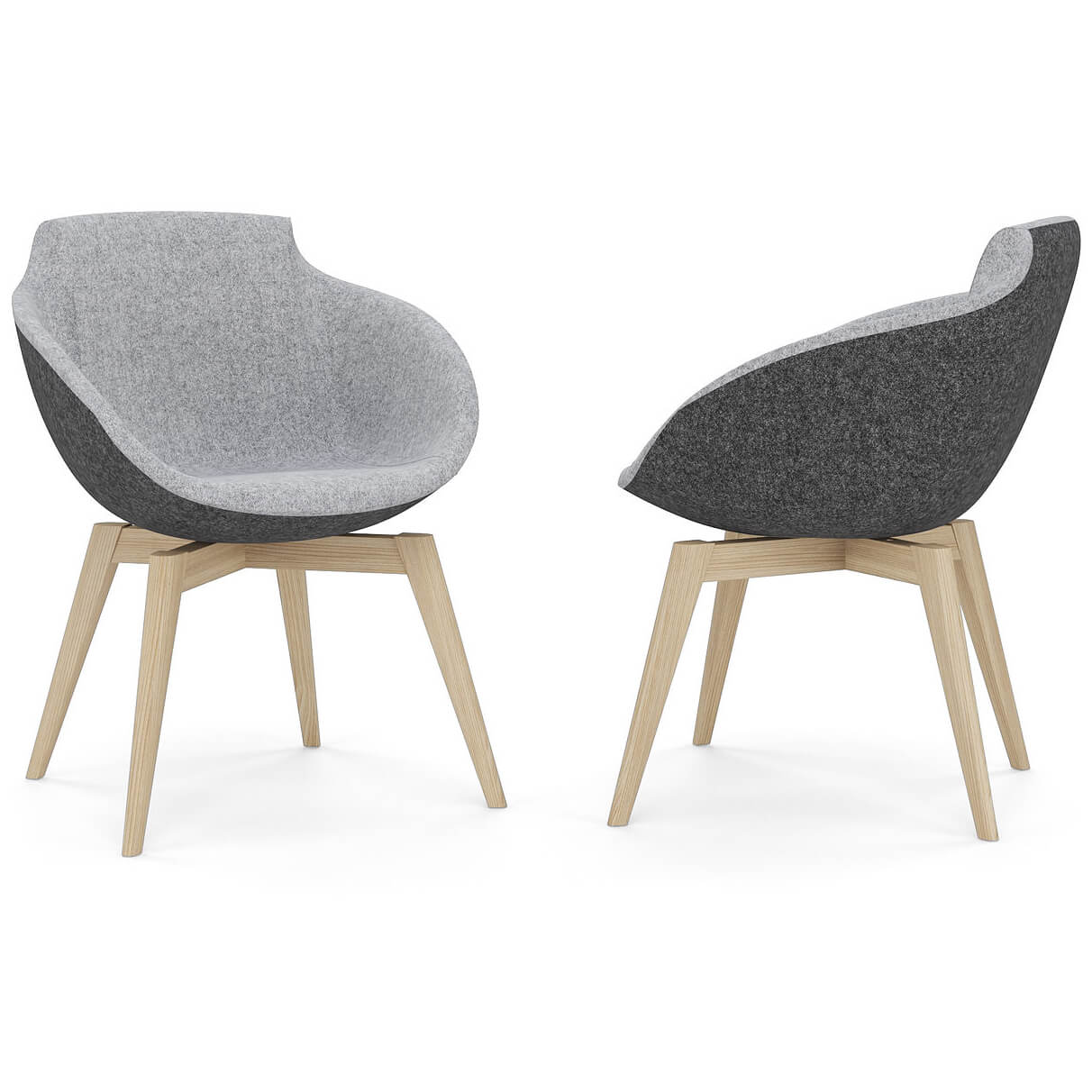 Lounge-sessel 808 Lounge Sessel Mit Hocker