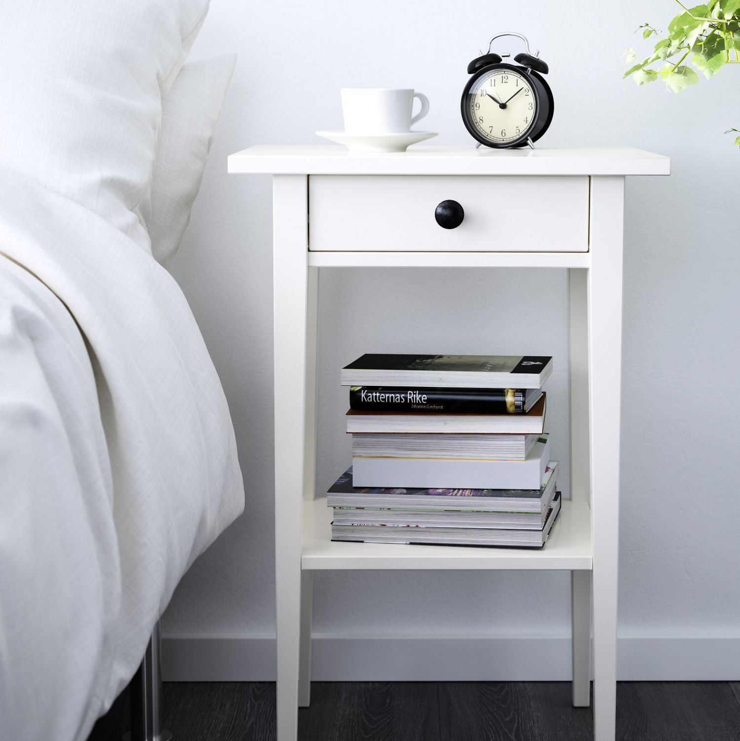 Hemnes Ablagetisch Ikea Hemnes Mantel Wood White Side Table Bedside Table