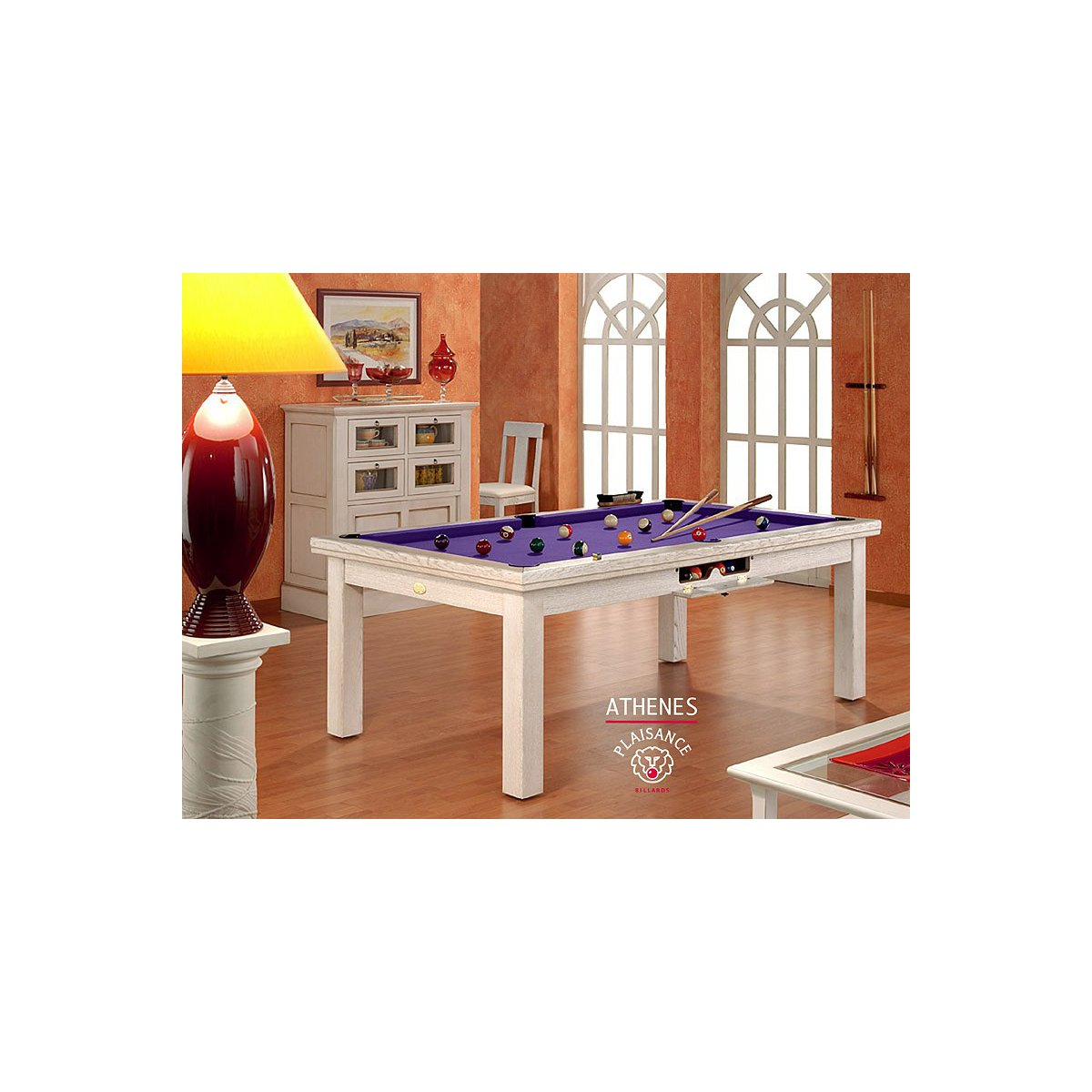 Baby Foot Table A Manger Table Billard Convertible Athènes