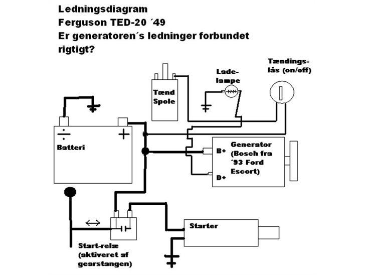 ezgo starter ledningsdiagram