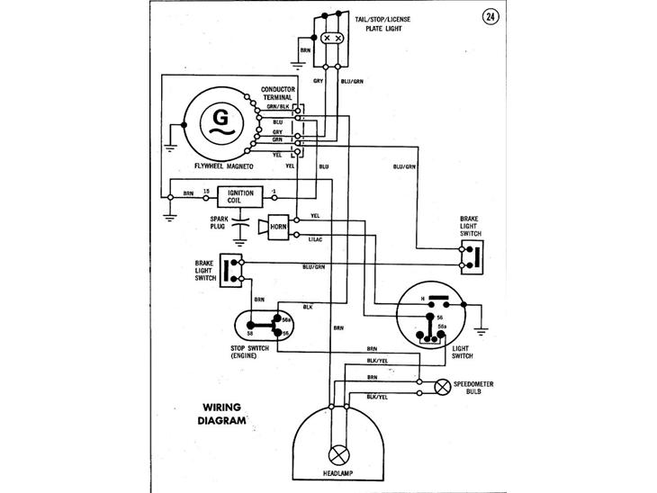 1978 puch maxi ledningsdiagram