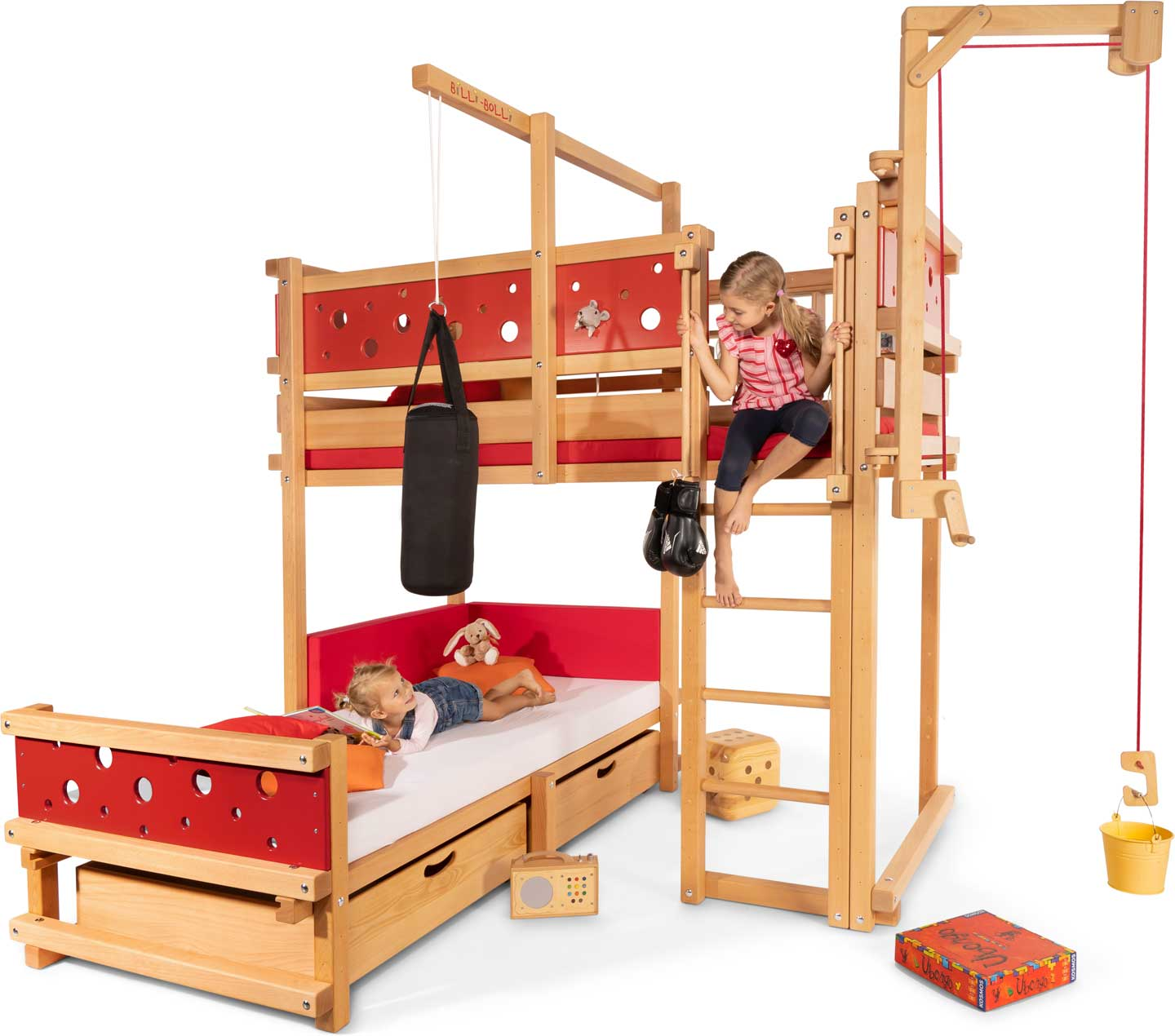Abenteuer Hochbett Kids' Beds, Loft Beds And Bunk Beds From Billi-bolli