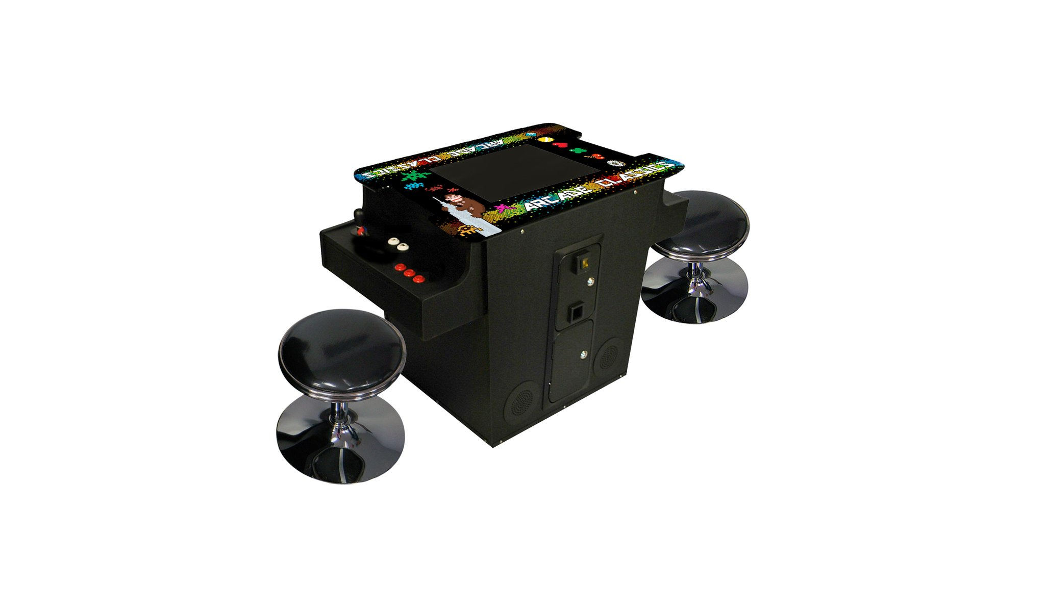 Classic Table Arcade Games Full Sized Cocktail Table Arcade Game Feat 60 Classic Games