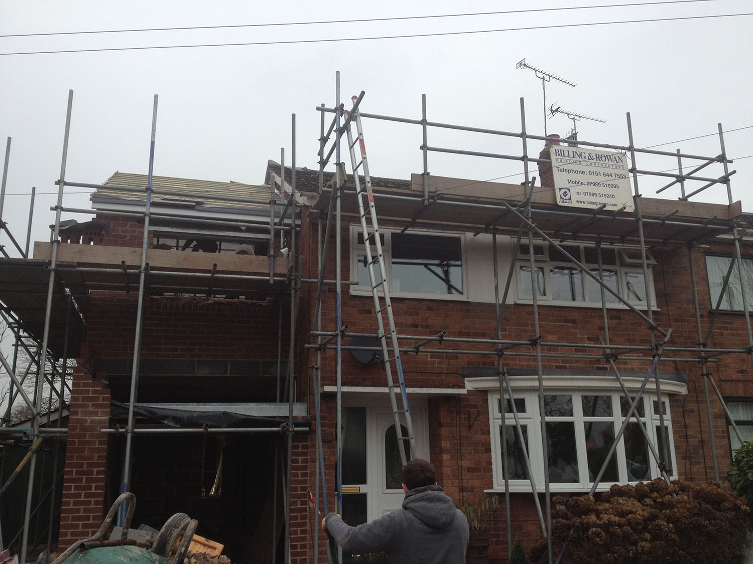 Garage Home Extension Billing Rowan Builders Wirral Home Extensions Wirral Merseyside
