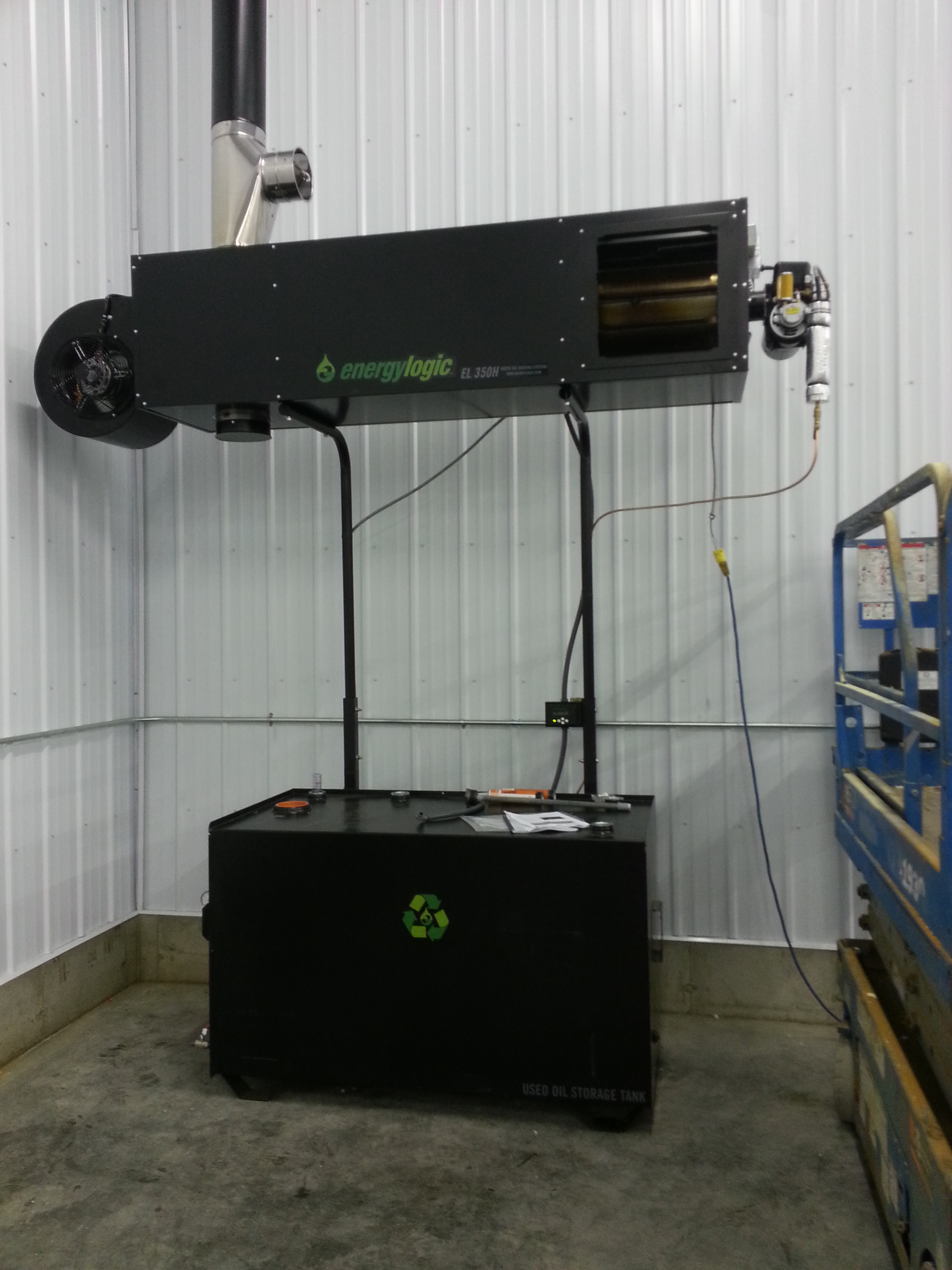 Garage Heater Craigslist Waste Oil Heaters Superior Water And Energy