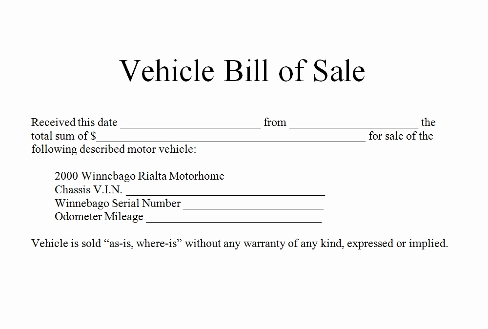 How to Write Bill of Sale for Car Bill of Sale Form Template - automobile bill of sale sample
