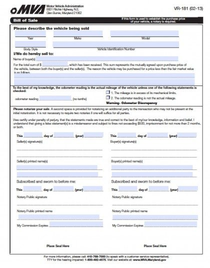 Blank Vehicle Purchase Order Form - vehicle purchase order form