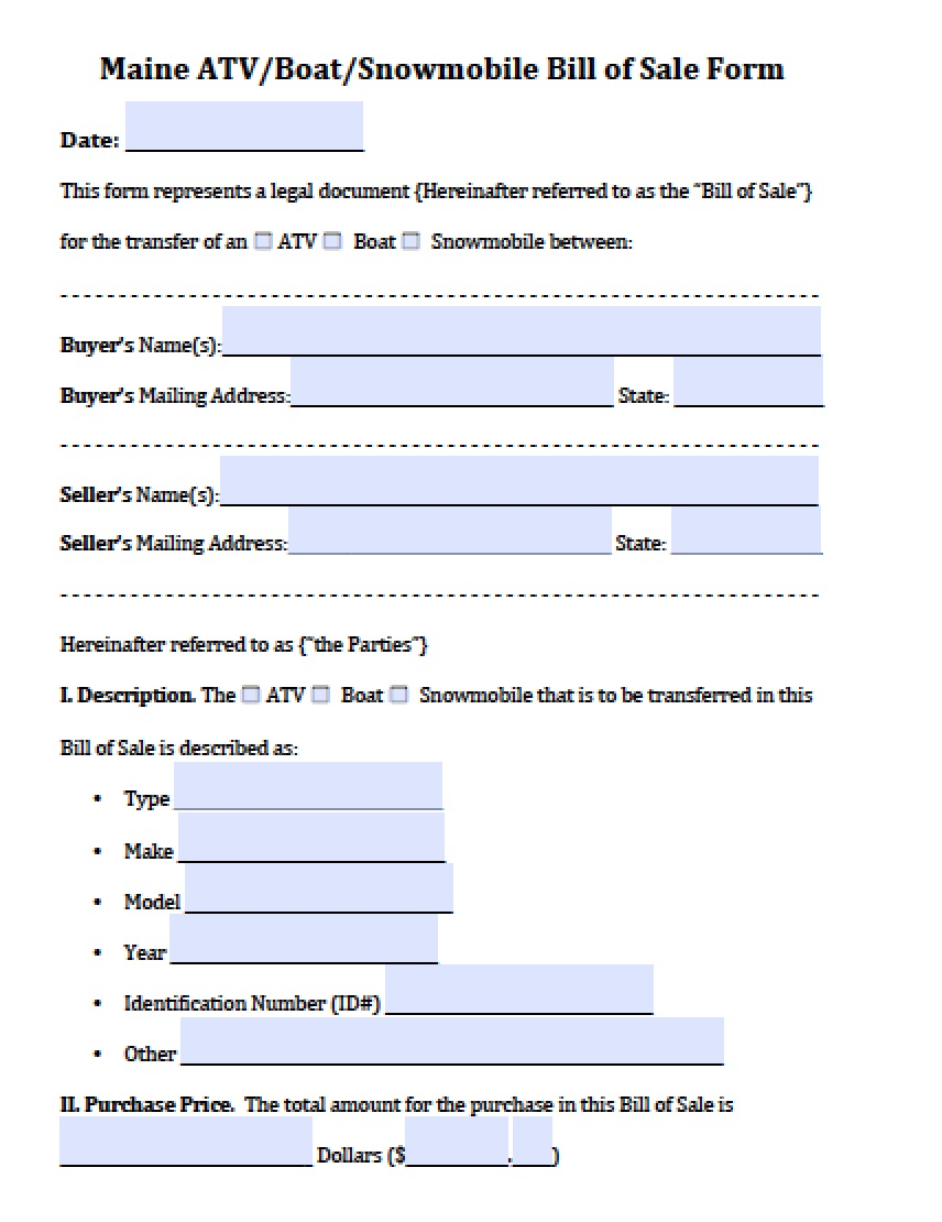 Bill of sale form uk car free cover letter templates invoice templates