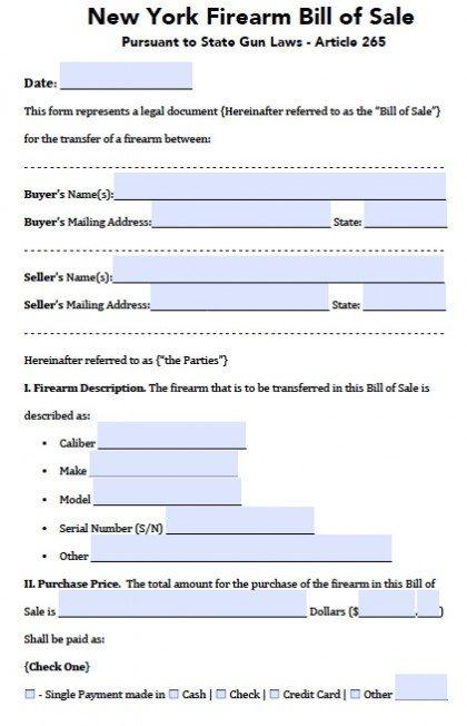 free auto bill of sale printable