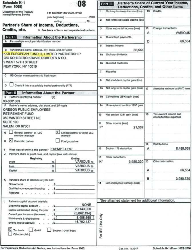 Sample Form 1065 K 1 | Professional resumes example online