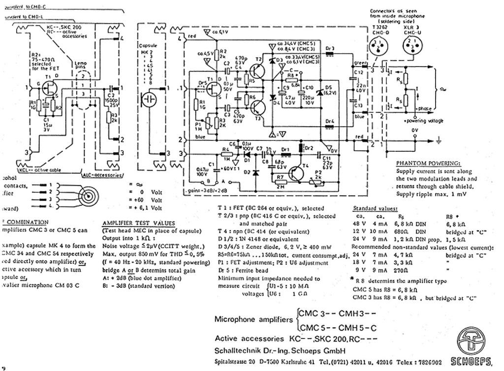 phantom power checker schematic
