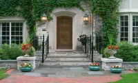 Front entry | REFLECTIONS from Wandsnider Landscape Architects