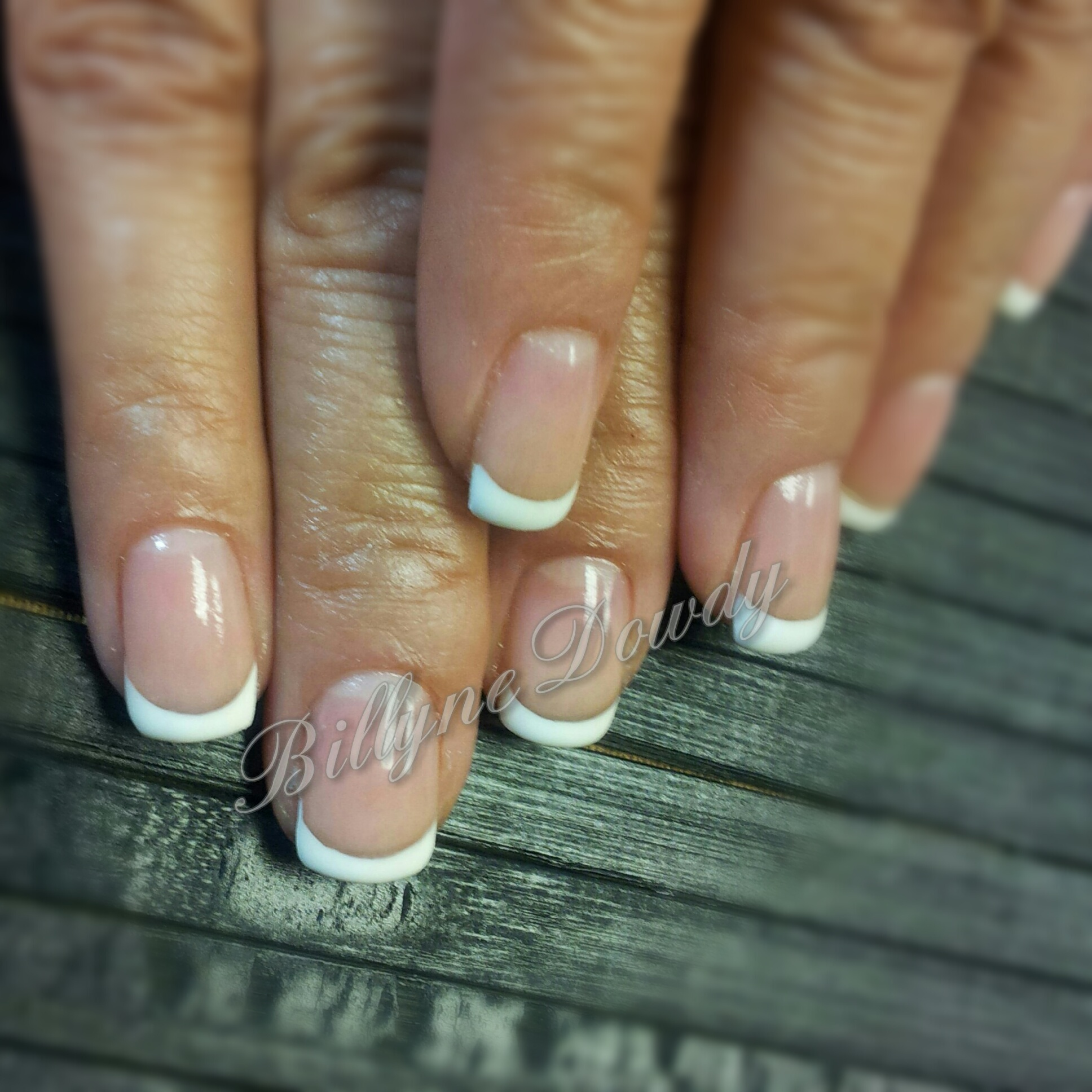 French Manicure On Natural Nails Billyne39s Nail Lash