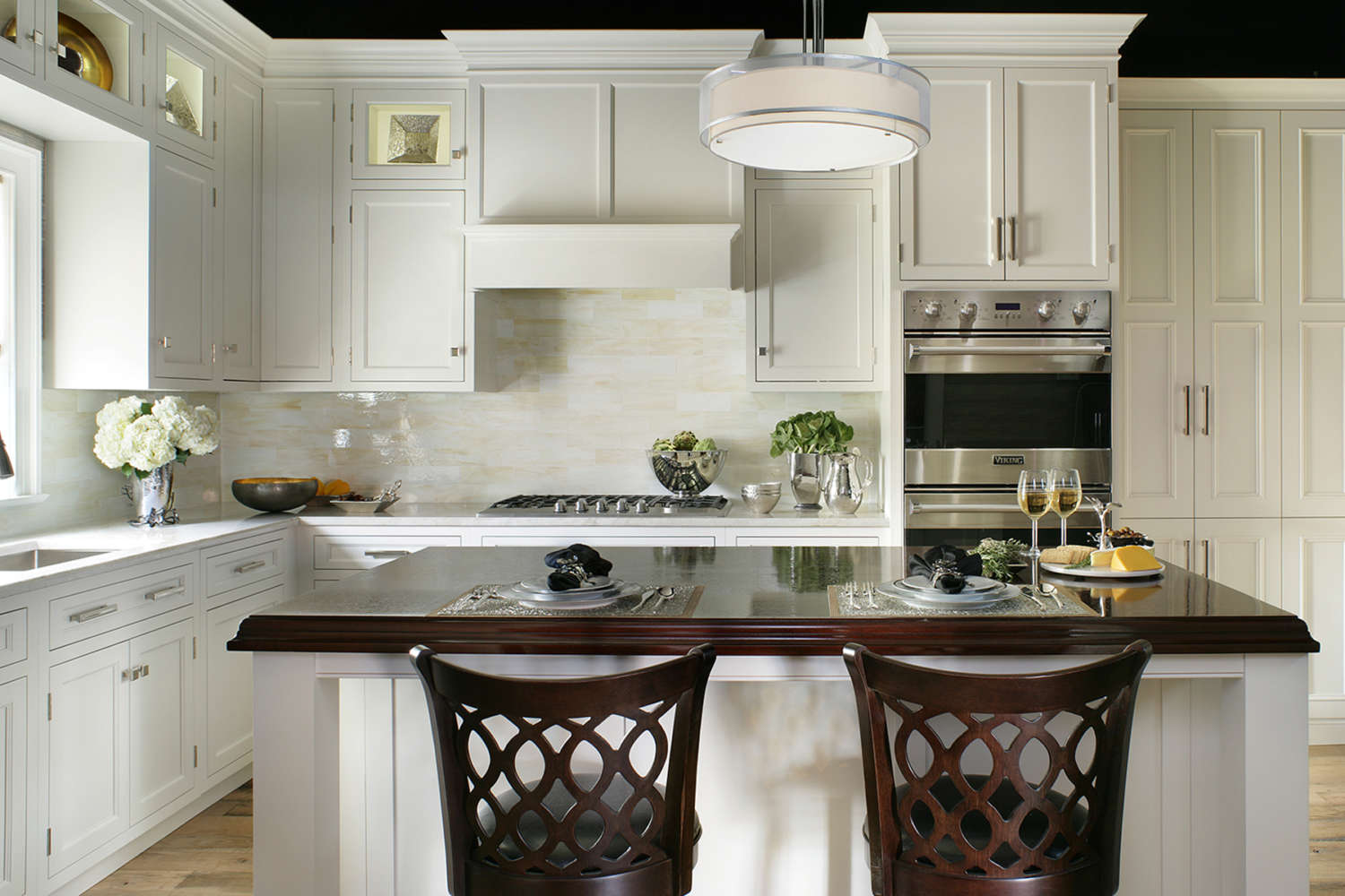 Traditional Kitchens With White Cabinets Traditional Kitchens Bilotta Ny