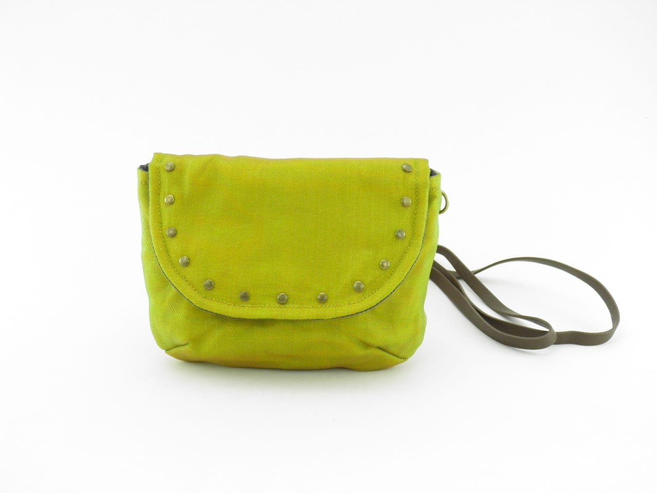 Le Minibag - Sac avec rivets éthique - Jaune