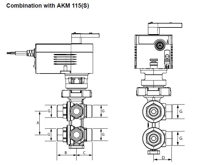 tuchenhagen valve 3 way diagram