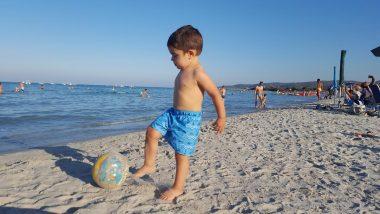 La spiaggia La Cinta è ideale per i bambini.