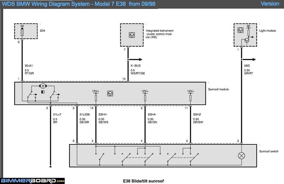 Wiring Diagrams Wds Bmw Wiring Diagrams Online Bmw 7 Series E38 Bmw