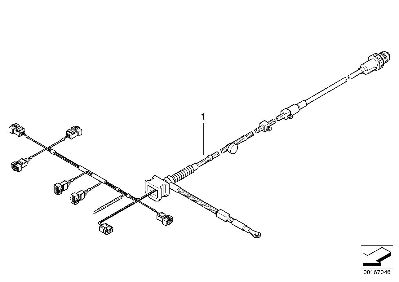 bmw ignition control module wiring harness