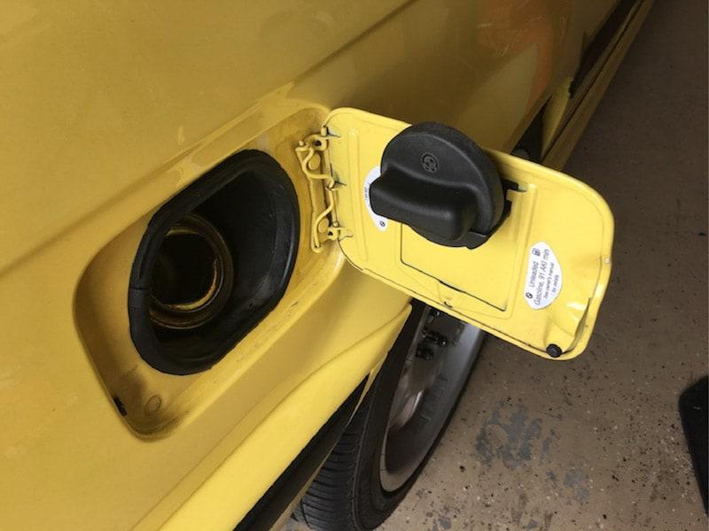 Bmw Gas Fuel Cap Holder Bimmertipscom