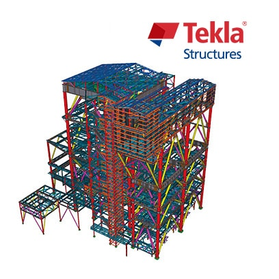 Tekla Structures product logo, bim solutions