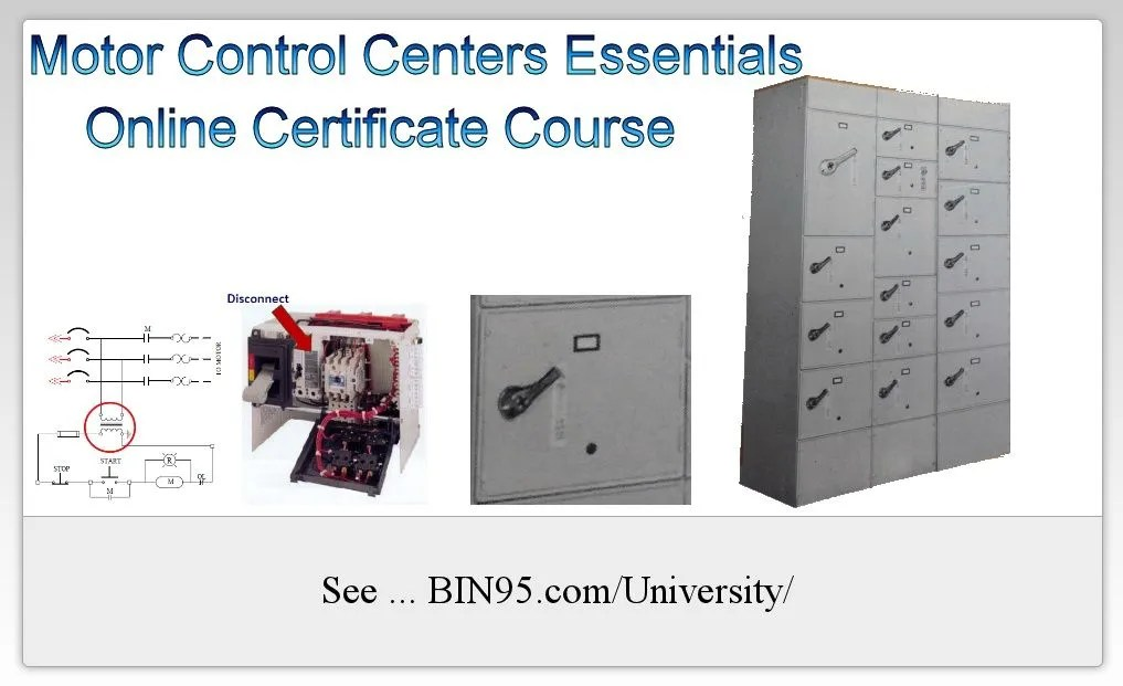 Online MCC Electrical Training