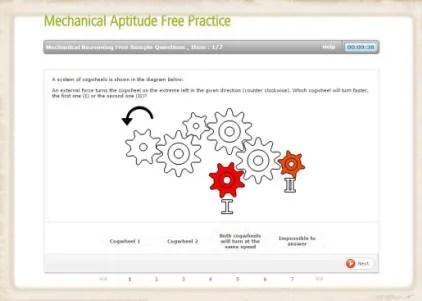 Mechanical Engineering Career Aptitude Test - career aptitude test
