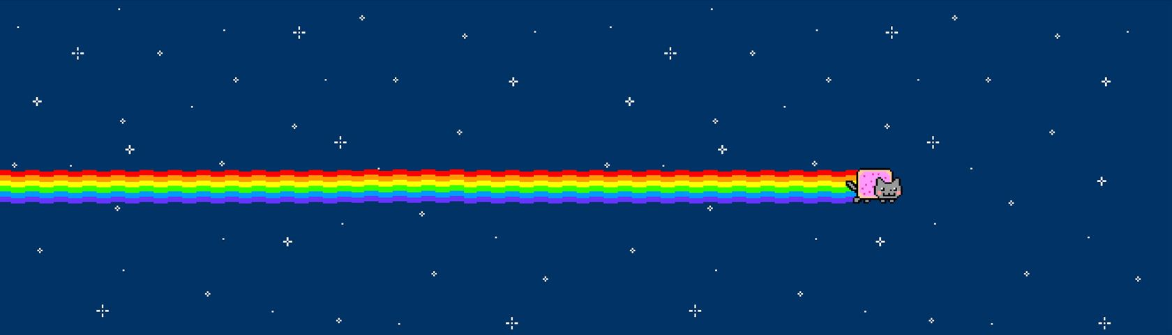 Cat 2048 Nyan Cat In Space Images Wallpaperfusion By Binary Fortress