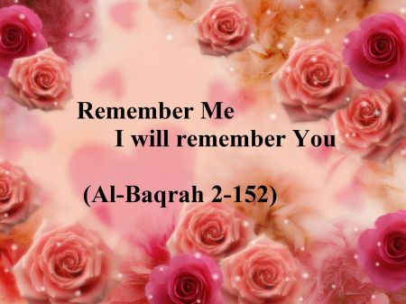 Remembering Him Comes
