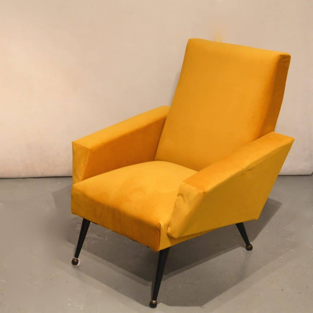 Fauteuil Sixties Fauteuil Sixties Moutarde Bindiesbindies