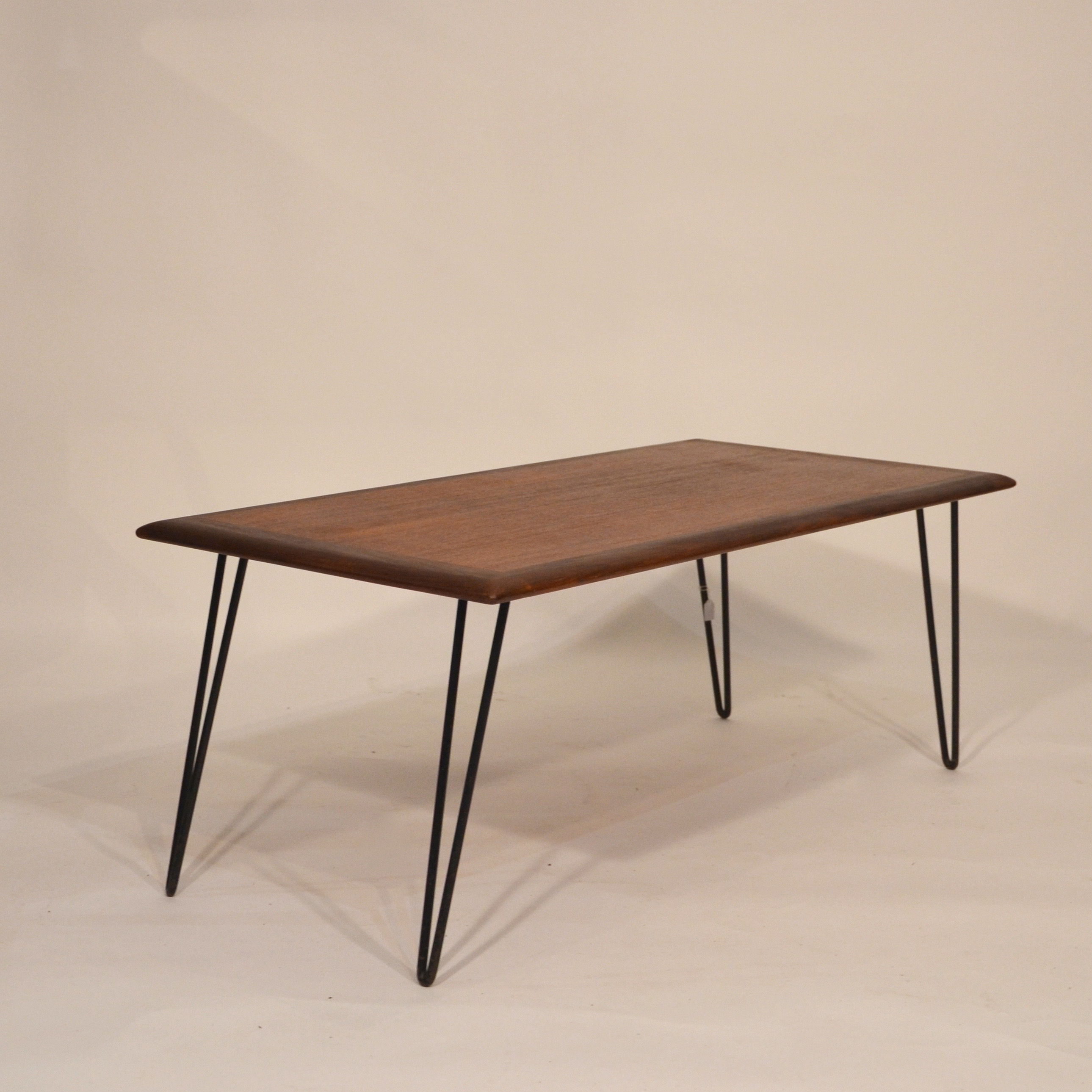 Pied De Table Basse Scandinave Table Basse Scandinave En Teck Et Pieds Métal Bindiesbindies