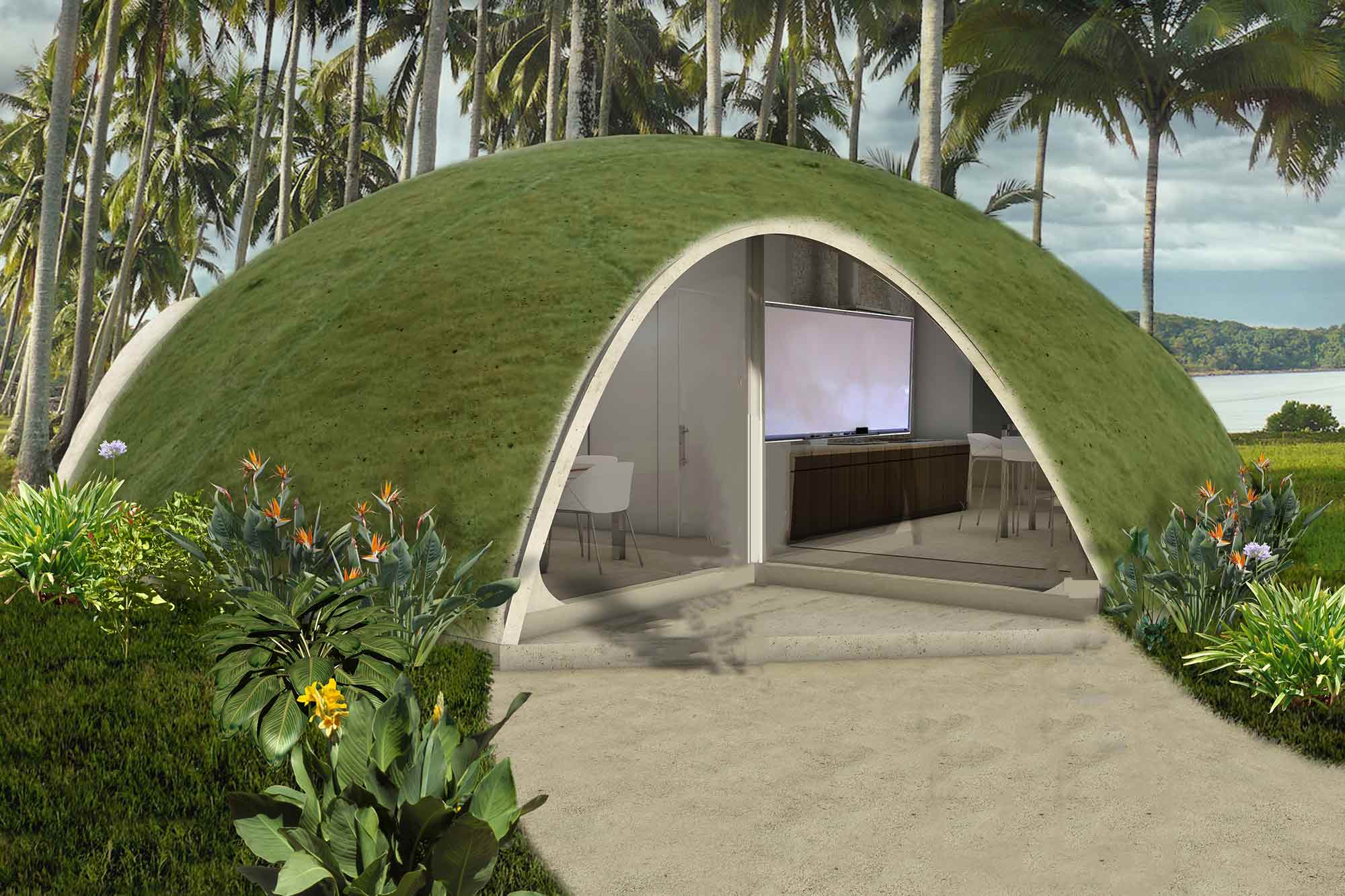 Ideal View Project Binishells Redesigning Constructionhome Binishells Binishell Dome Homes Buy Colorful Binishell Dome Homes curbed Binishell Dome Homes