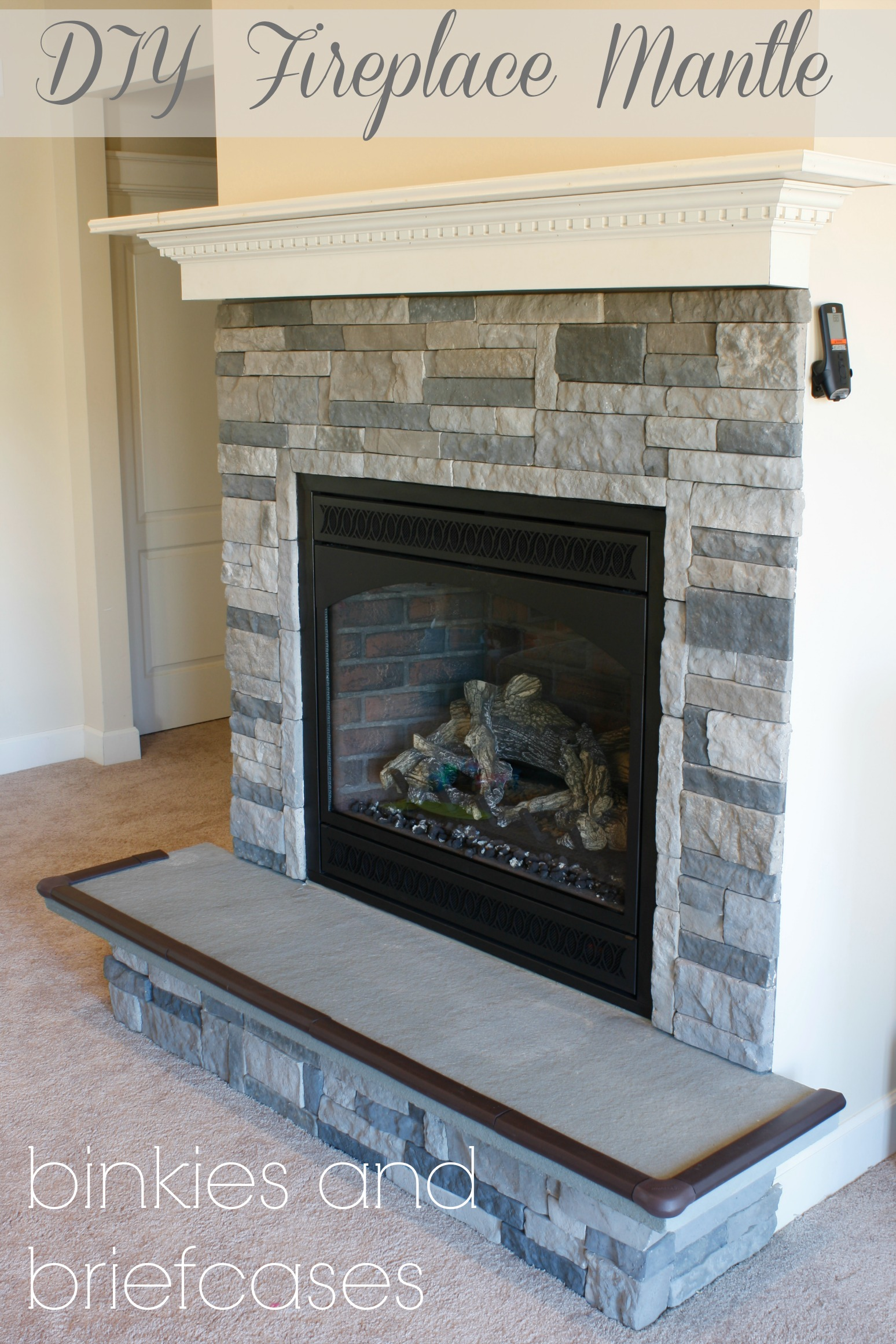 Build Your Own Fireplace Insert Diy Stone Fireplace With Airstone Binkies And Briefcases