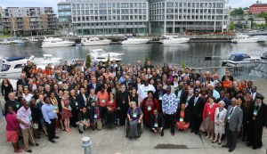 Group photo of the WCC Central Committee meeting 2016