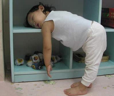Bayi kecapekan - lelah