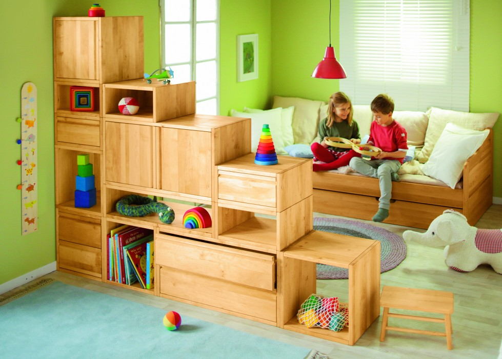 Kinderzimmer Regal Regal Bücherregal Schrank Kommode Kinderzimmer Schublade