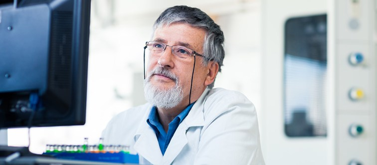Scientist considering an online purchase