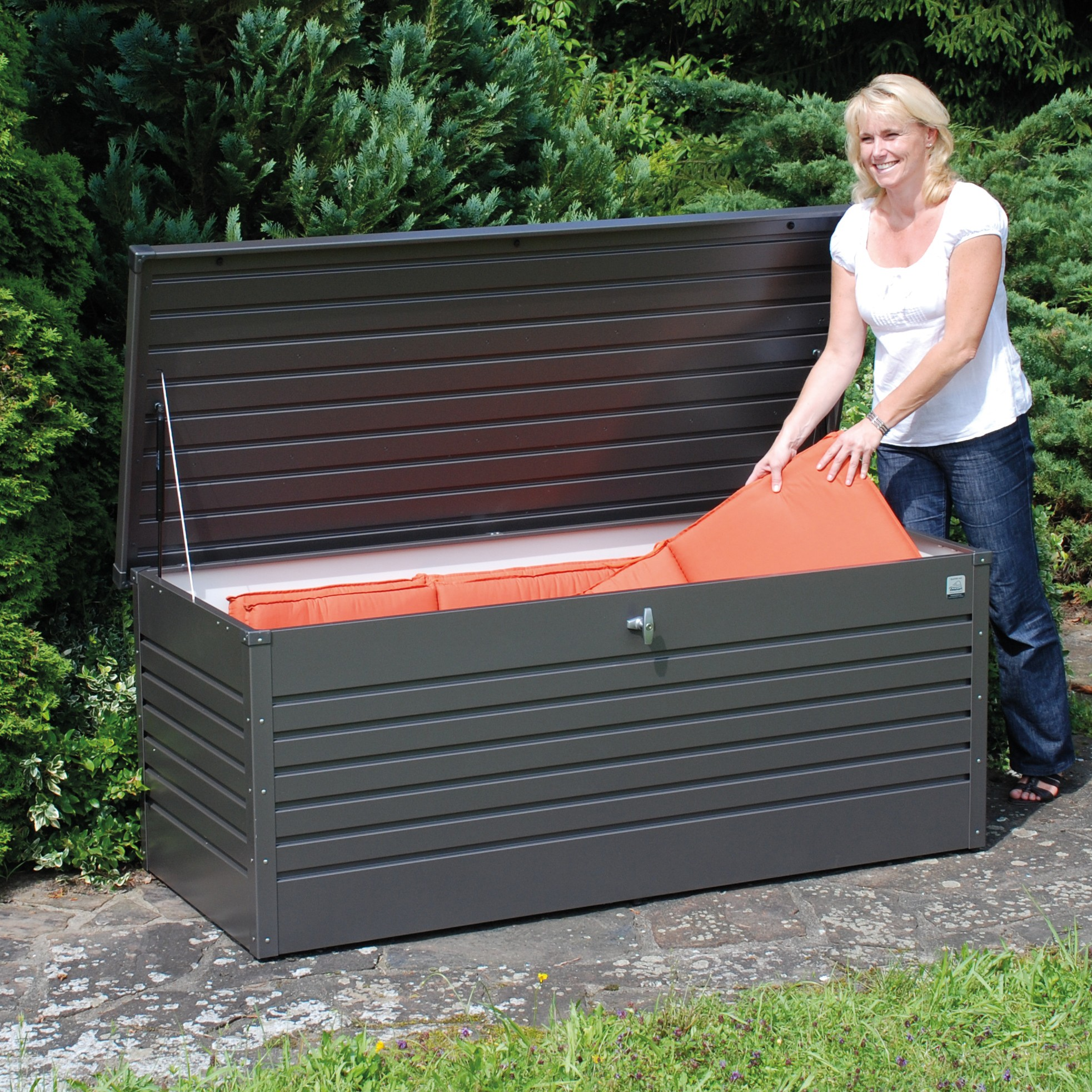 Kissenbox Outdoor Gartenbox Wasserdicht Alu Gartenbox Wasserdicht Alu With