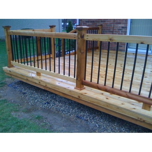 Medium Crop Of Metal Deck Railing
